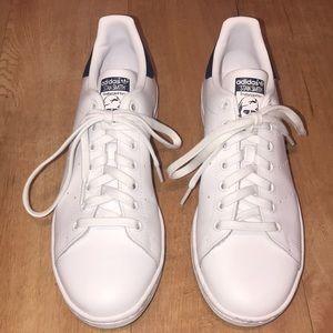 Adidas Stan Smith White & Navy Sneakers